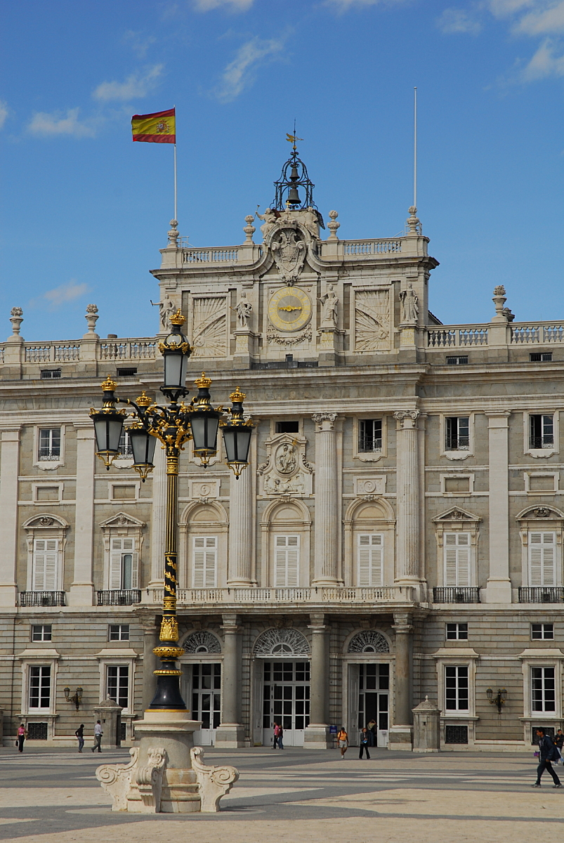 Madrid - Palacio Royal lantaarn